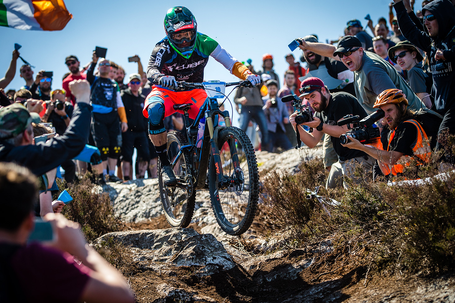 Greg Callaghan, vainqueur des Enduro World Series de Wicklow au guidon de son Stereo 140 C:62 29. © Matt Wragg