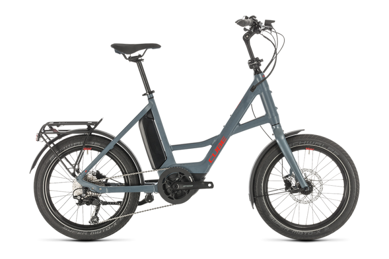 """Cube 20"""" Compact Sport Hybrid blue´n´red"""