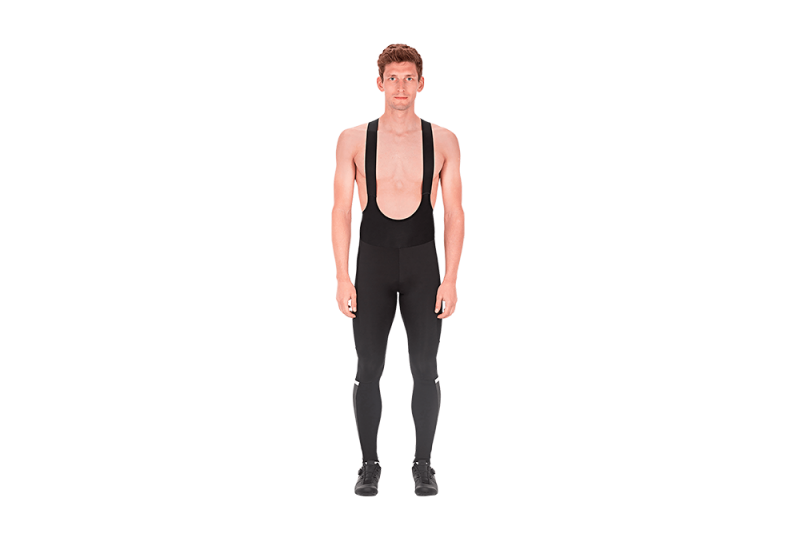 CUBE BLACKLINE Bib Tights