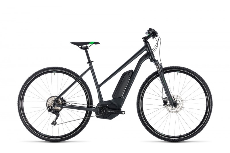 Cross Hybrid Pro 400 grey´n´flashgreen 2018
