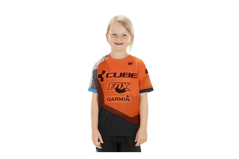 CUBE JUNIOR EDGE Jersey S/S X Action Team