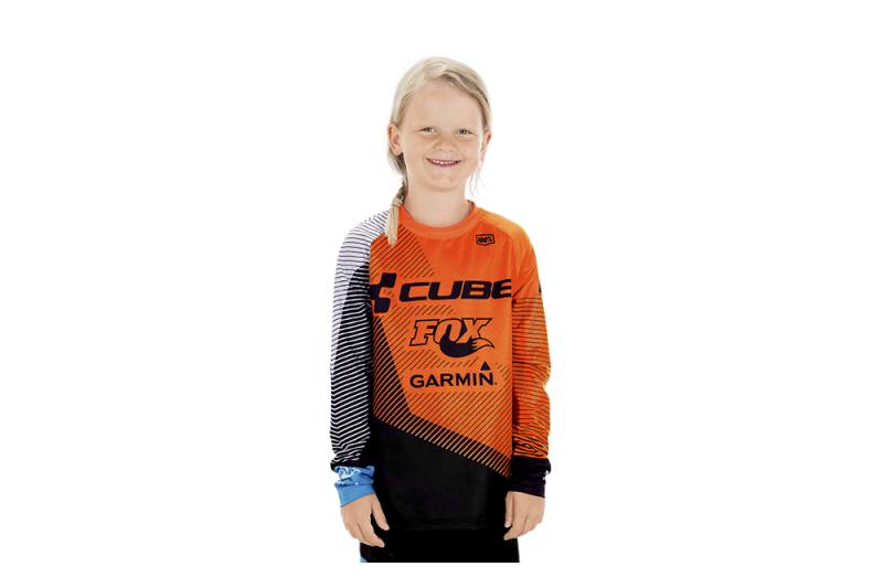 CUBE JUNIOR EDGE Jersey l/s X Action Team