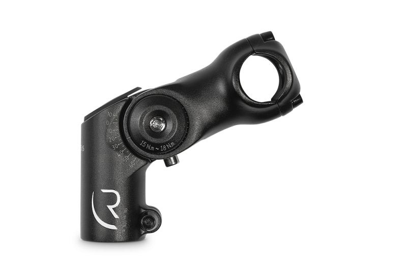 RFR Raised Adjustable Stem TREKKING black 25,4 x 80mm