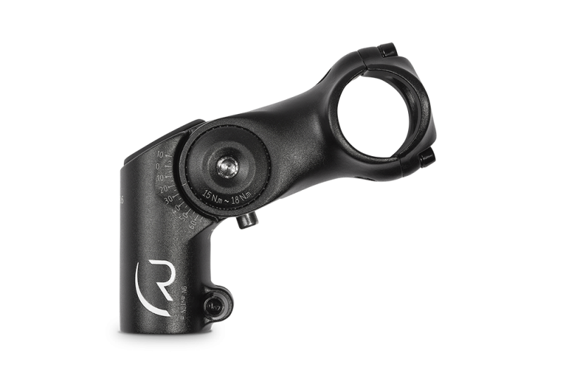 RFR Raised Adjustable Stem MTB black 31,8 x 80mm