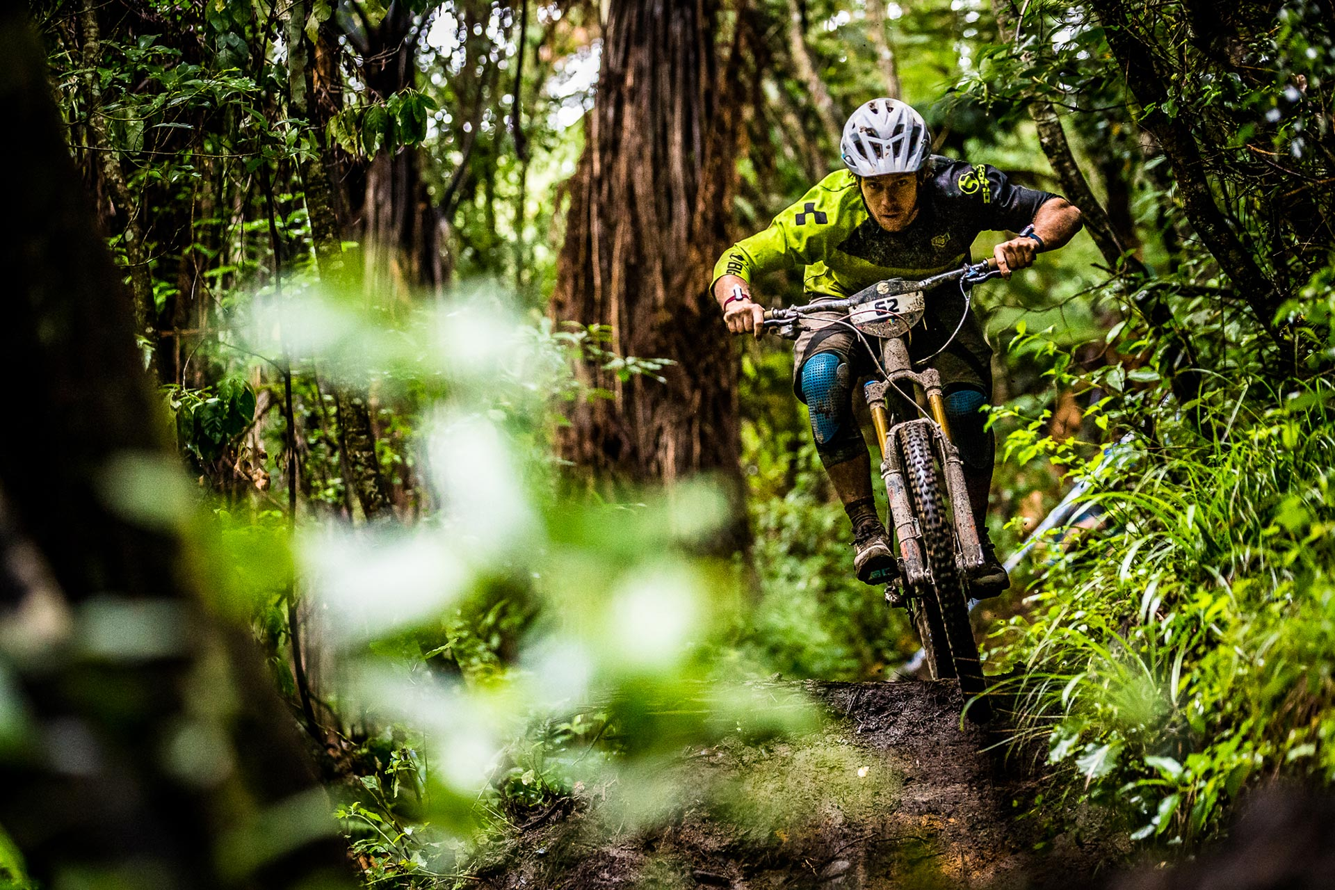 Matt Walker, Cube Global Squad, vainqueur du Giant Toa Enduro des Crankworx. © Boris Bayer