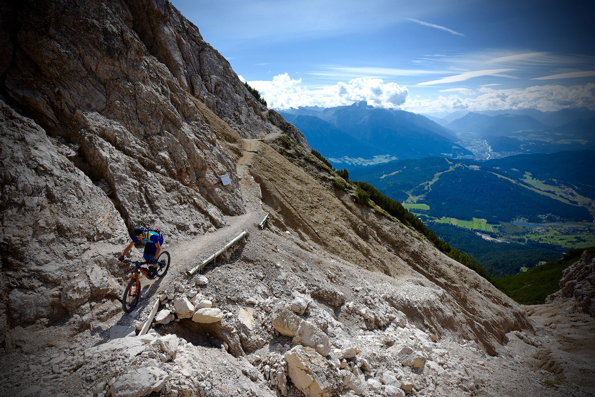 """All-Mountain"" prend ici tout son sens ! © Claus Wachsmann"