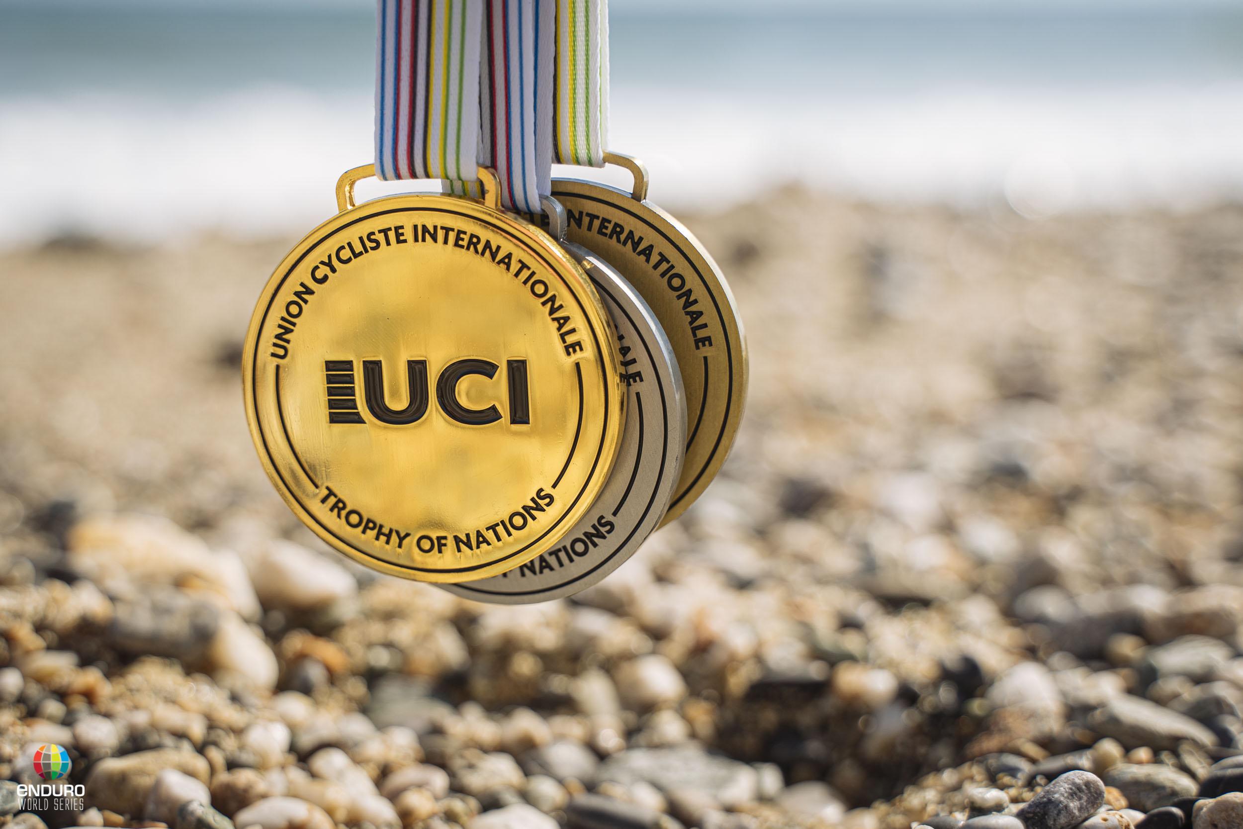 Zakarias Johansen remporte la médaille d'Argent UCI à l'occasion de la première édition du Trophée des Nations.