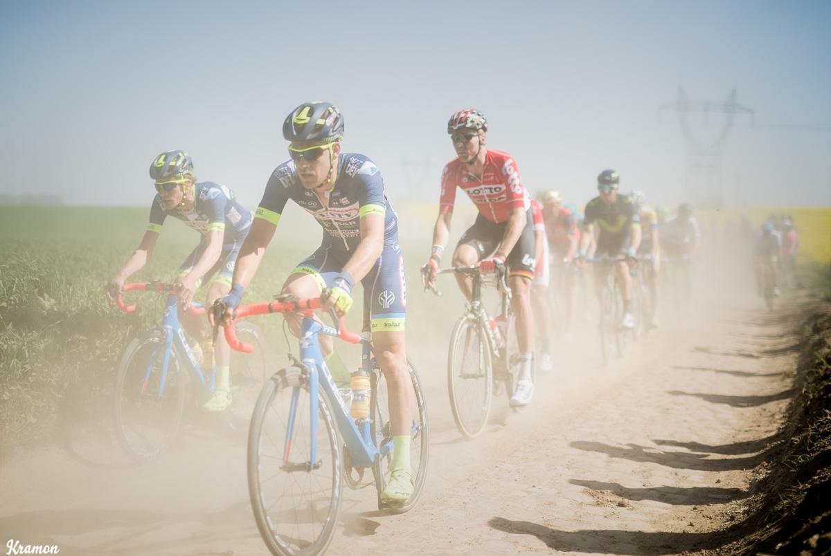Un Paris-Roubaix aux allures de Paris-Dakar ! © Kramon