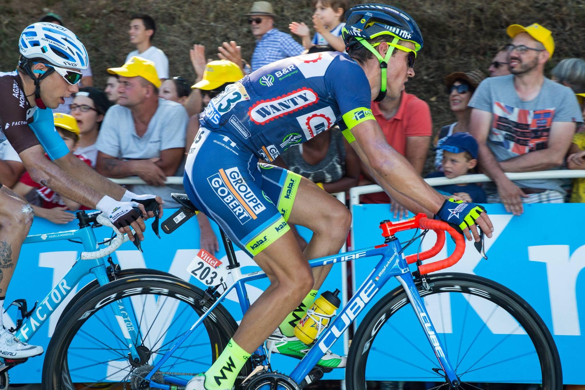 Après 2664 kilomètres de course, les 9 coureurs de la Wanty-Groupe Gobert ont pu profiter du deuxième jour de repos sur le Tour de France.