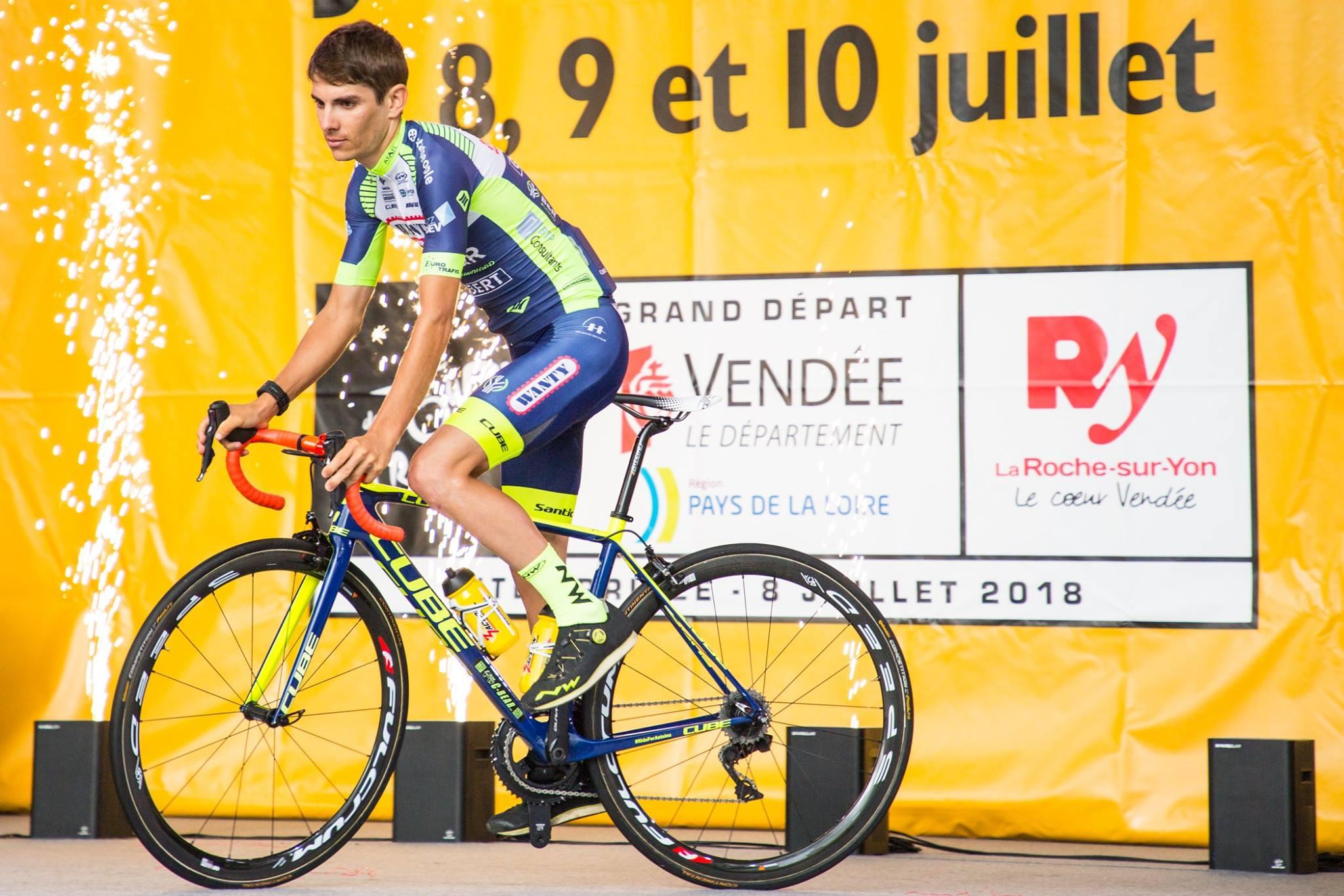 Guillaume Martin fait figure de favoris pour endosser le Maillot Blanc sur ce Tour de France 2018.