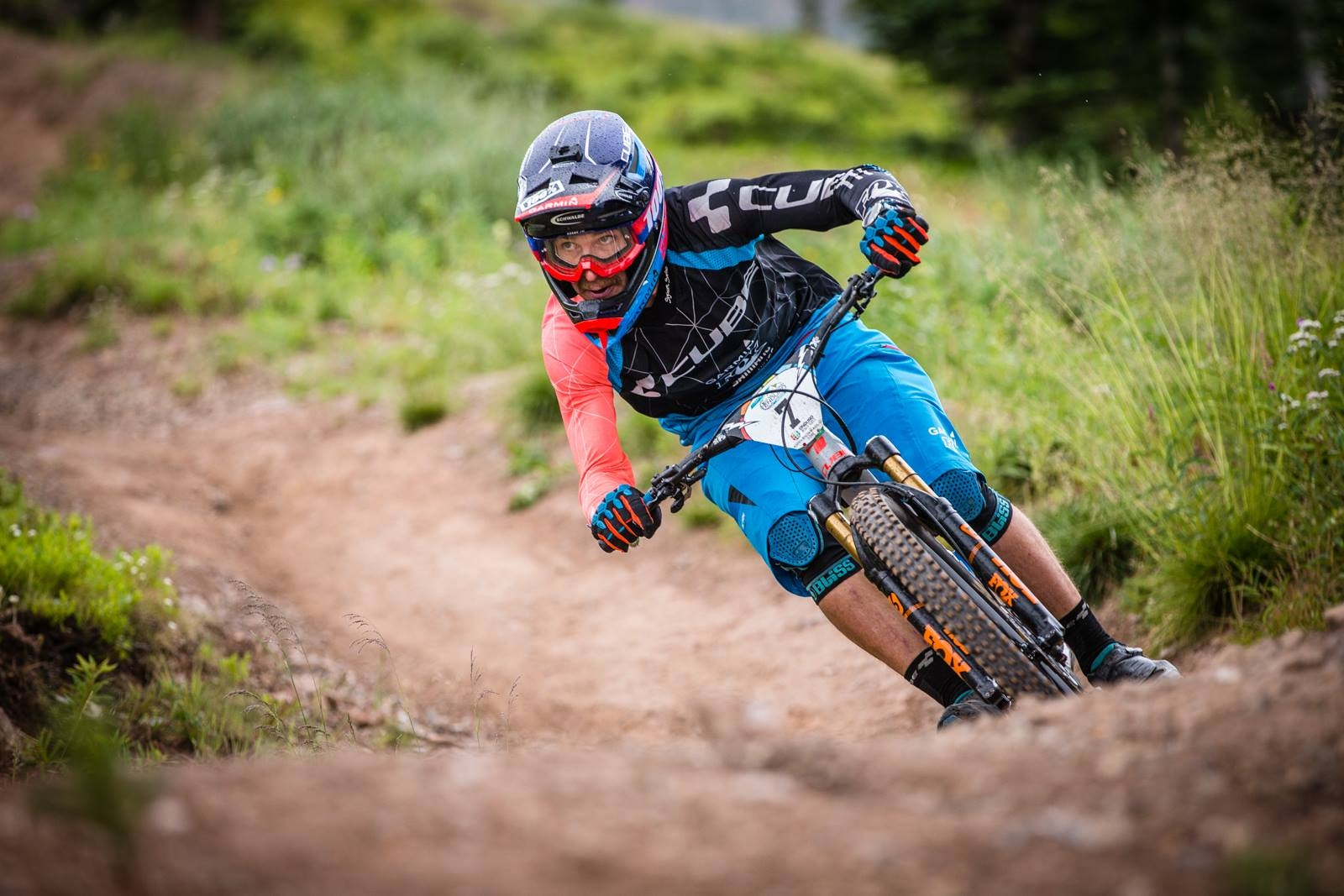 Nicolas Lau prend la 2ème place des Enduro World Series d'Aspen, USA