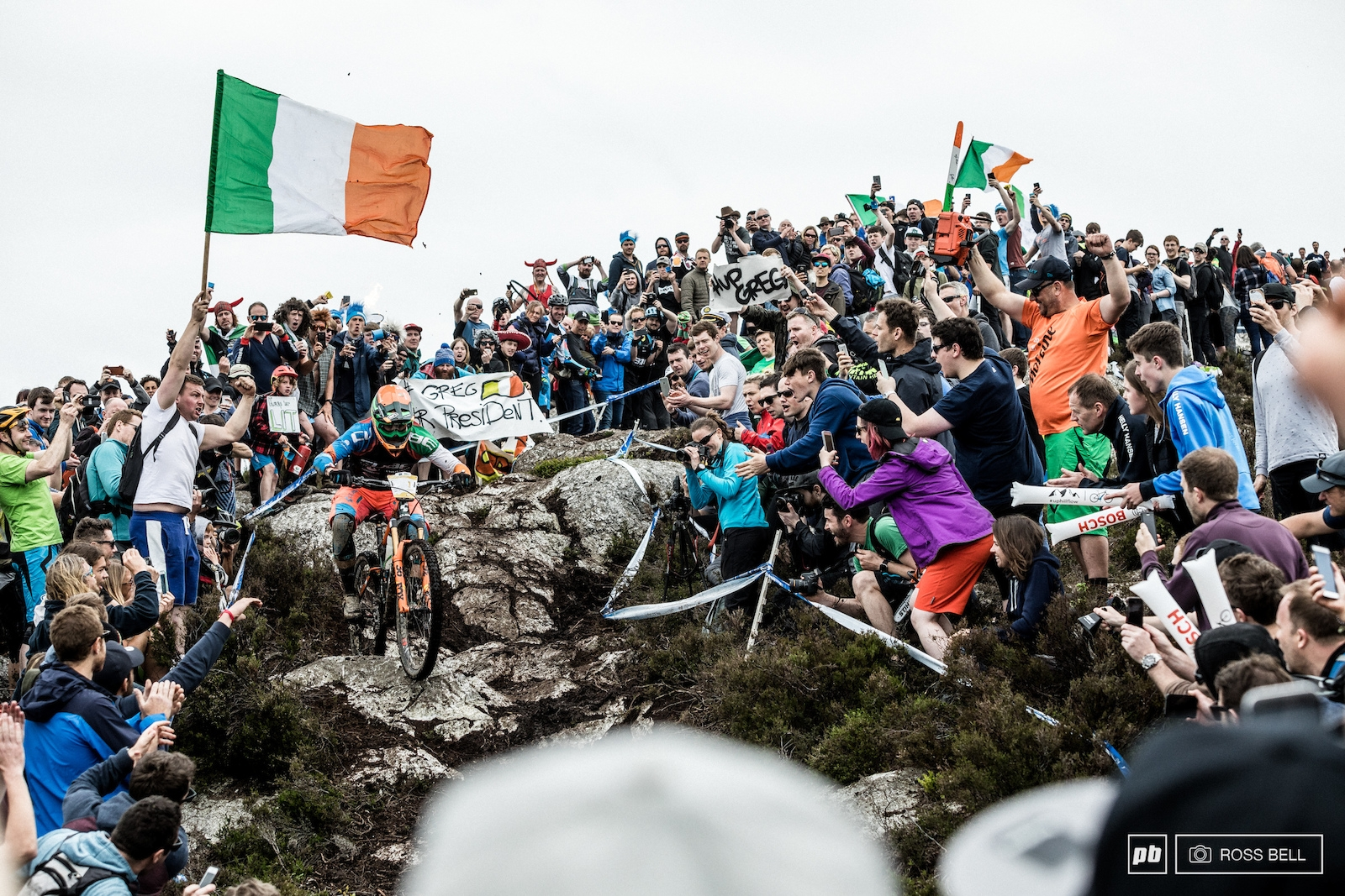Paint the Hill Green