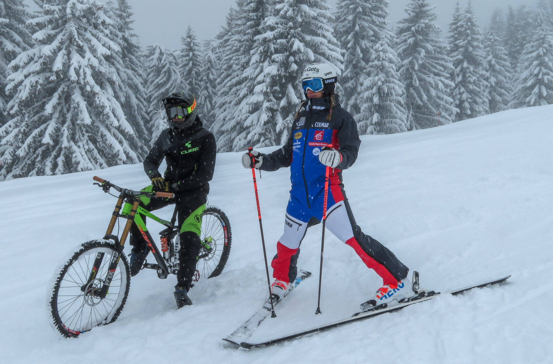 Les Gets : Ski vs. VTT