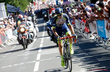 TDF2018 : Dion Smith fait la course aux points