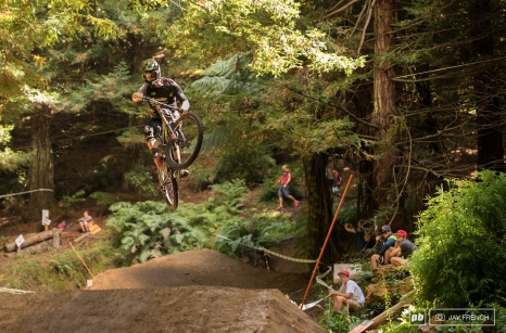 Matt Walker, King of Crankworx Rotorua