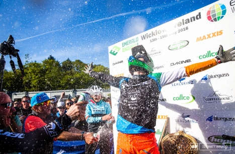Greg Callaghan s'impose sur les Enduro World Series de Wicklow