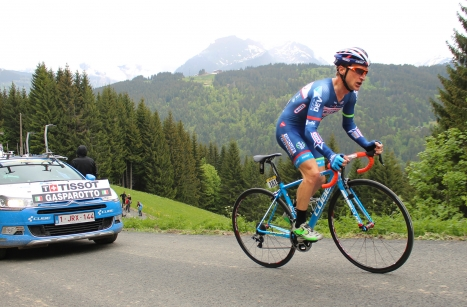 Wanty-Groupe Gobert escalade Les Gets